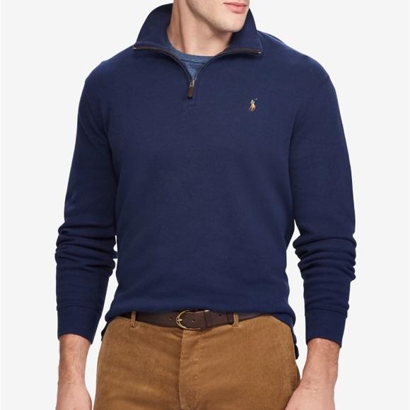 b02c7b22b Men s Polo Ralph Lauren Quarter Zip Sweater. M 5a514d4185e605436a02575d